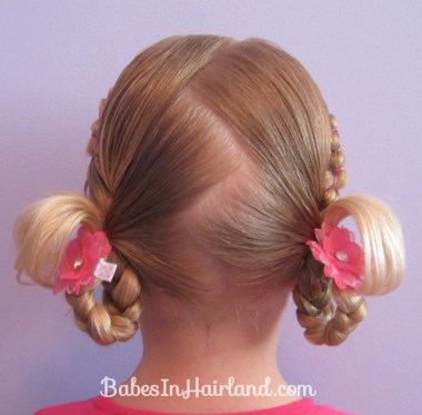 Rubber Band Wraps & Flipped Braids (13)