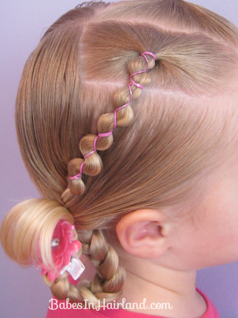 Hairstyles With Rubber Bands