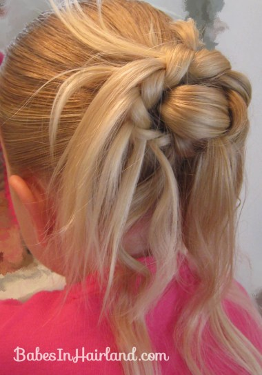 Feather Braided Bun (8)