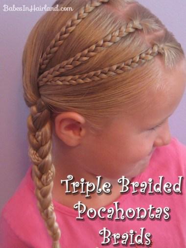 Triple Braided Pocahontas Braids (1)