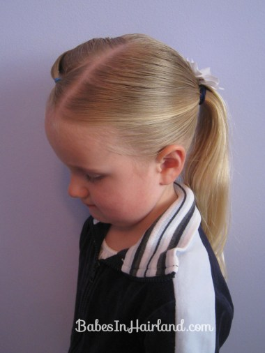 Uneven Braid, Pony & Poof (12)