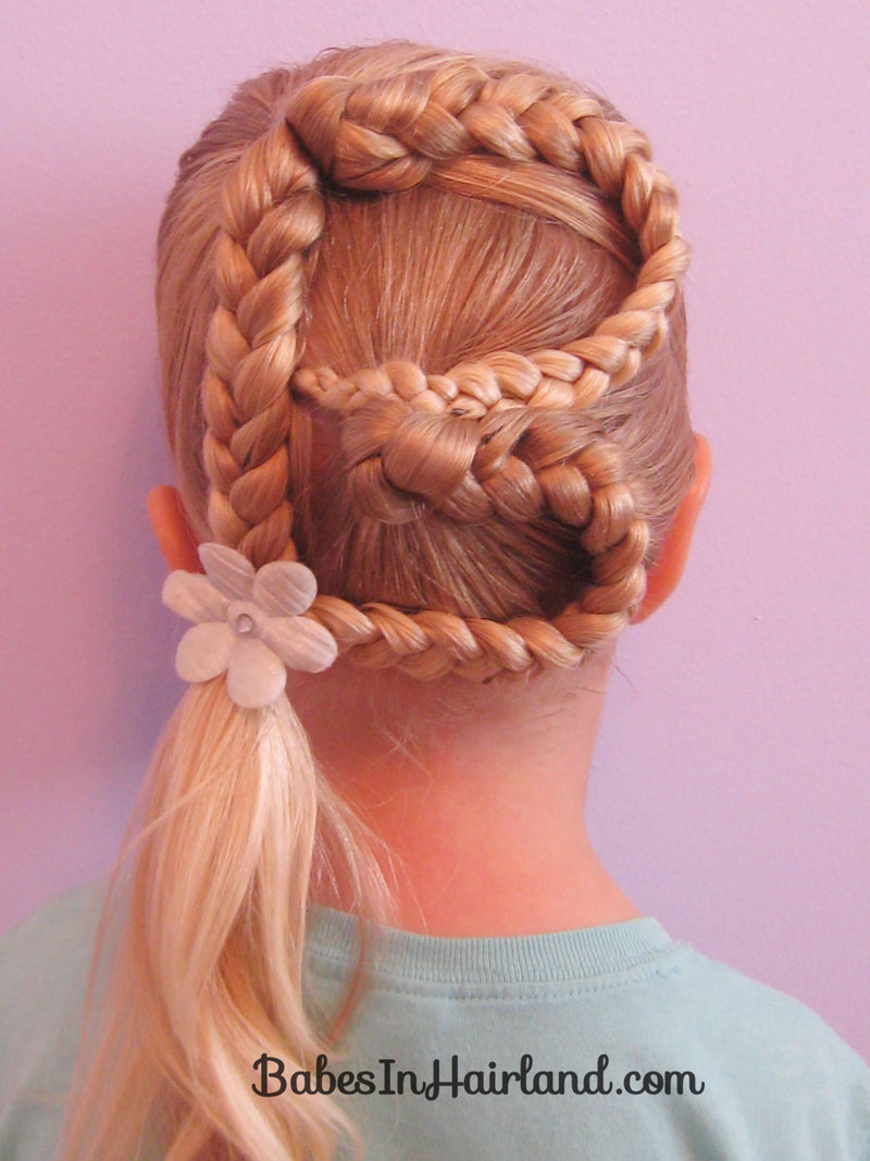 Letter B Hairstyle Babes In Hairland