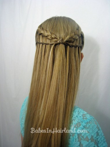 Feather Braid & Waterfall Twist from BabesInHairland.com