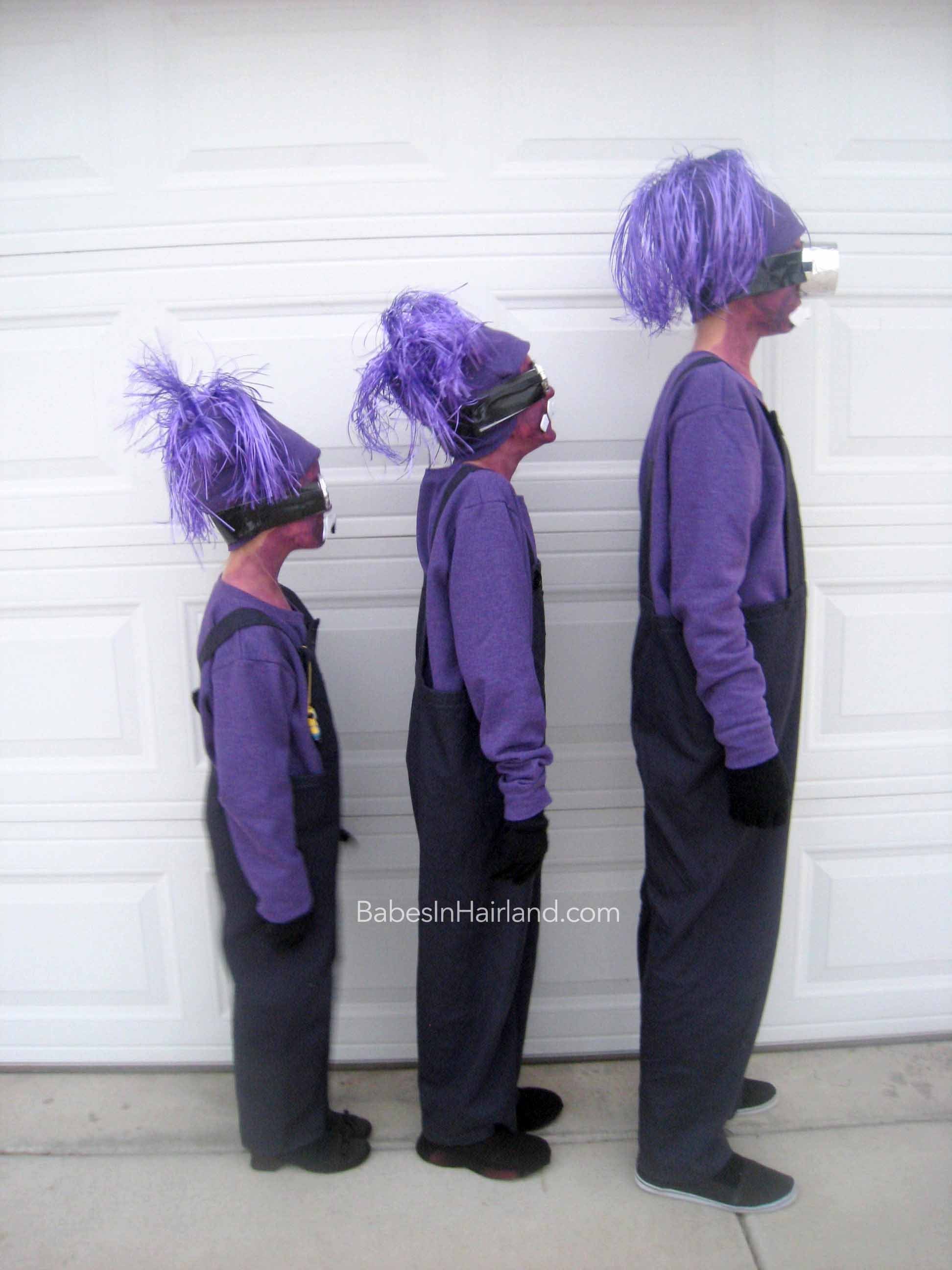 Wonderful Purple Minion Halloween Costumes - Babes In Hairland WS42