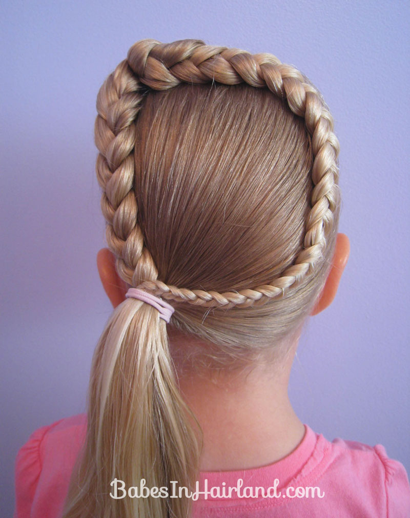 Letter D Hairstyle Babes In Hairland