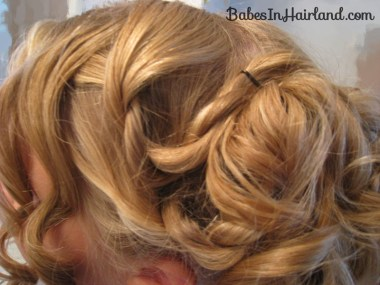 Cascading Pinned Up Curls (9)