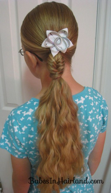 Quick Fishbone Braid Hairstyle (4)