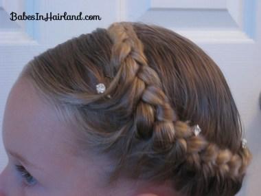 Half French Braided Crown (3)