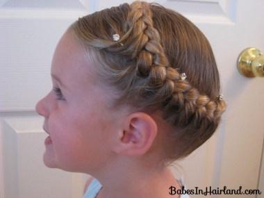Half French Braided Crown (5)