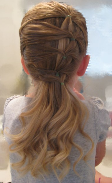 Fancy row of ponytails (4)