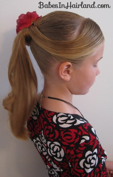 Fancy Wrapped Ponytail (1)