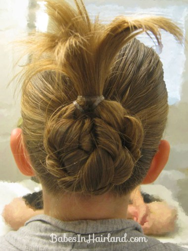 Bun for Shorter Hair (6)