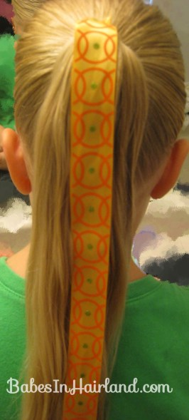 Halloween Hair - Jack O' Lantern Bun (4)
