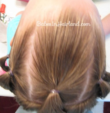 Knotty Flower Girl Hairstyle (2)