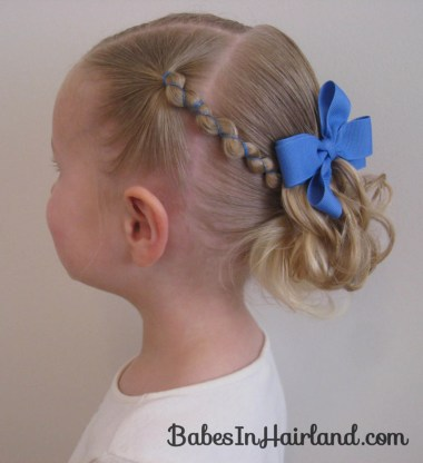 Rubber Band Wraps and Messy Bun (3)