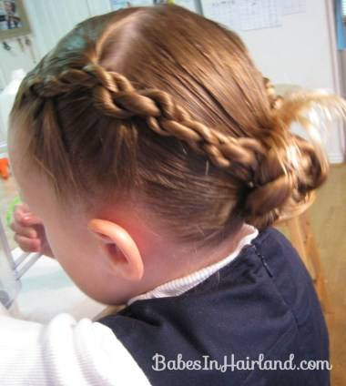 Rope Braids back to a Bun (6)