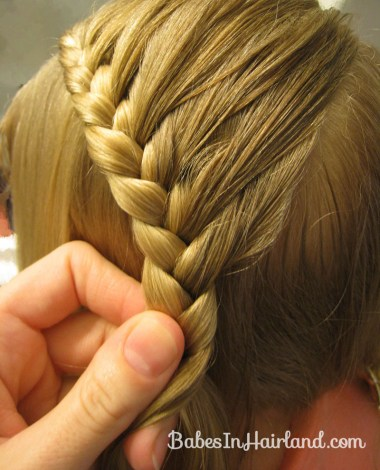 Lauren Conrad Inspired - Half French Braid Wrapped Ponytail (8)