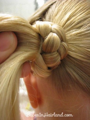 Lauren Conrad Inspired - Half French Braid Wrapped Ponytail (14)