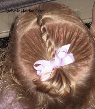 Baby Rope/Twist Braid into Baby Pony (7)