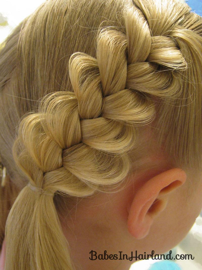 heart braids - valentine's day hairstyle - babes in hairland
