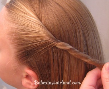 Twisted Knot Hairstyle | Teen Hairstyles (3)