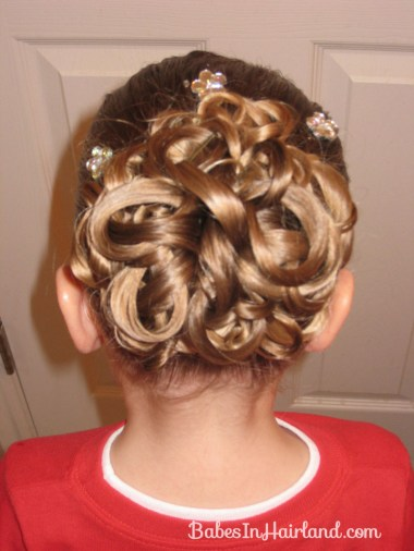 Knotted Pony Updo w/Hair Coils (12)
