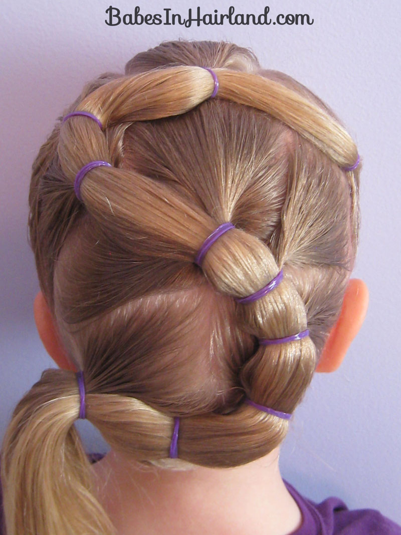Letter S Hairstyle Babes In Hairland