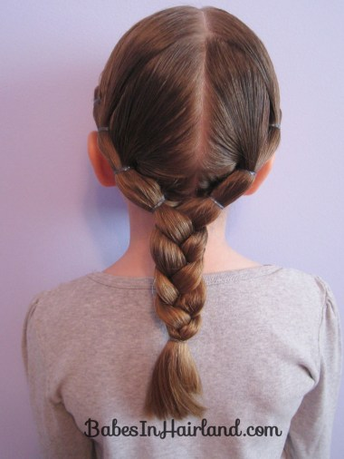 Puffy Braids into a Braid (3)