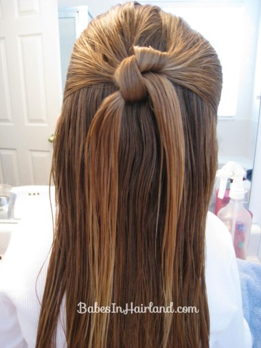 Row of Knots Hairstyle (3)