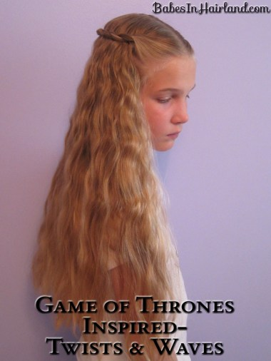 Game of Thrones Hair - Twists and Waves (4)