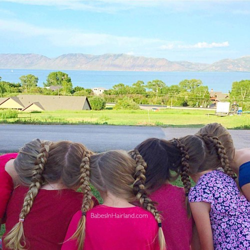 Braid Train at Bear Lake from BabesInHairland.com