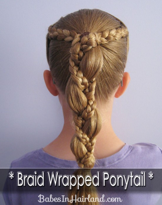 Braid Wrapped Ponytail (5)