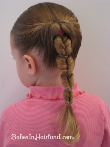 Fake Fishbone Hairstyle (8)