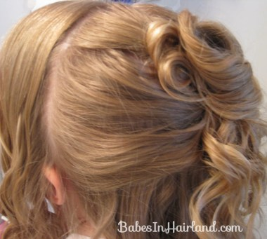 Pile of Curls Updo (6)
