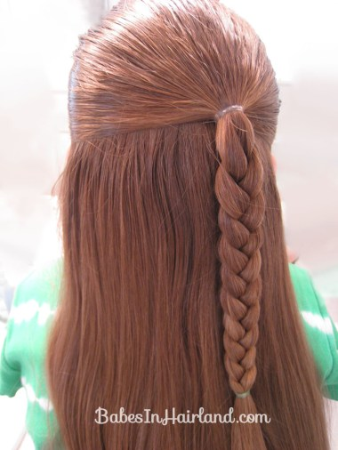 Side Braid and a Topsy Tail Twist (1)