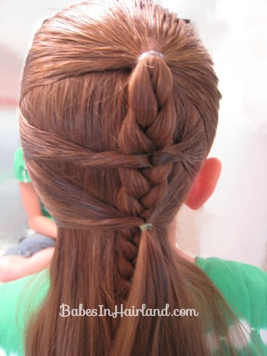 Side Braid and a Topsy Tail Twist (6)
