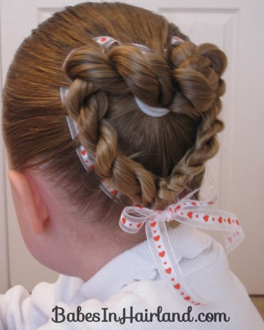 Heart to Heart Valentine Hairstyle (9)