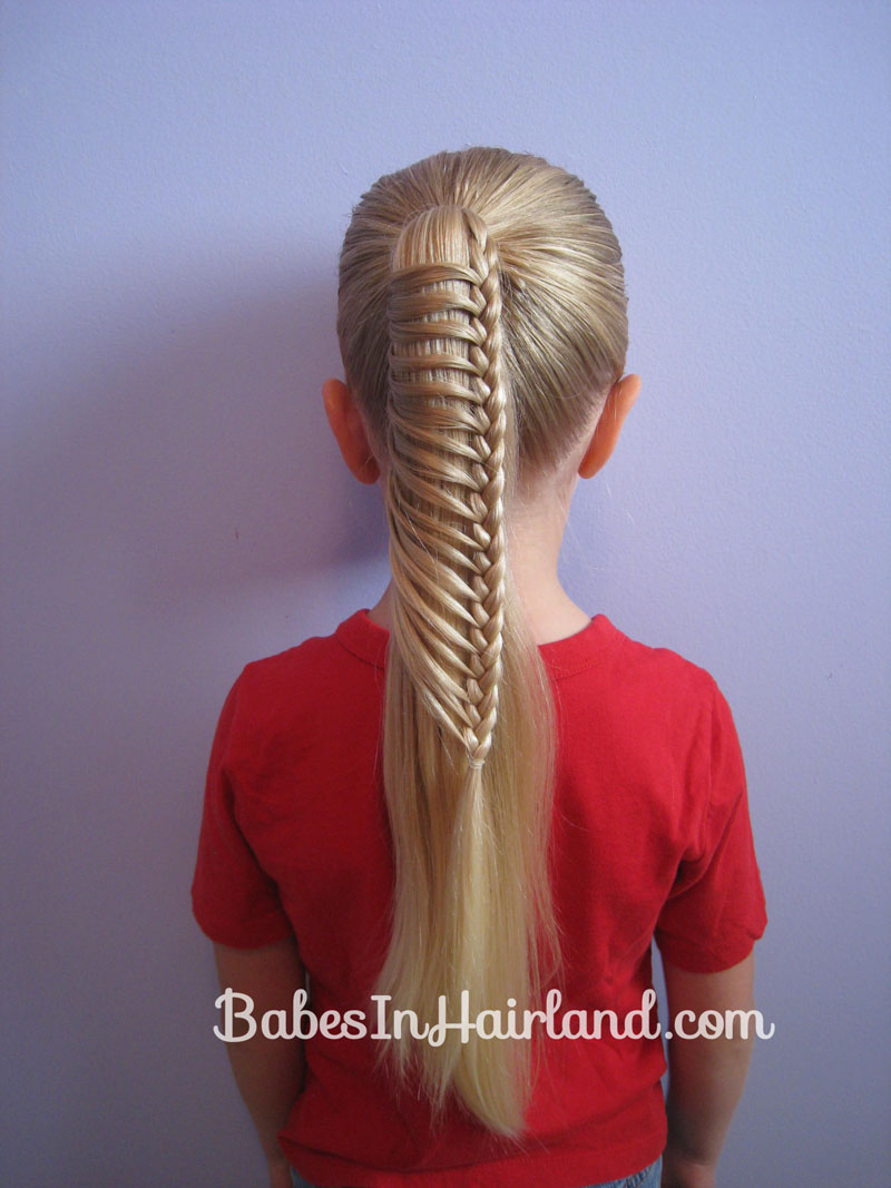 Wondrous Ladder Braid Inspired By Pinterest Babes In Hairland Hairstyle Inspiration Daily Dogsangcom