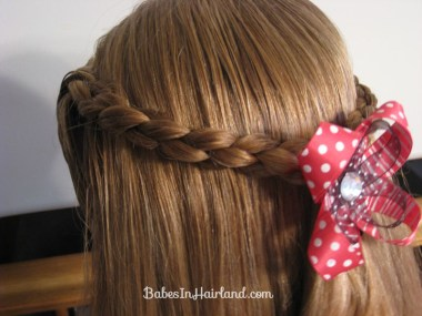 Simple 4 Strand Pullback Hairstyle (1)