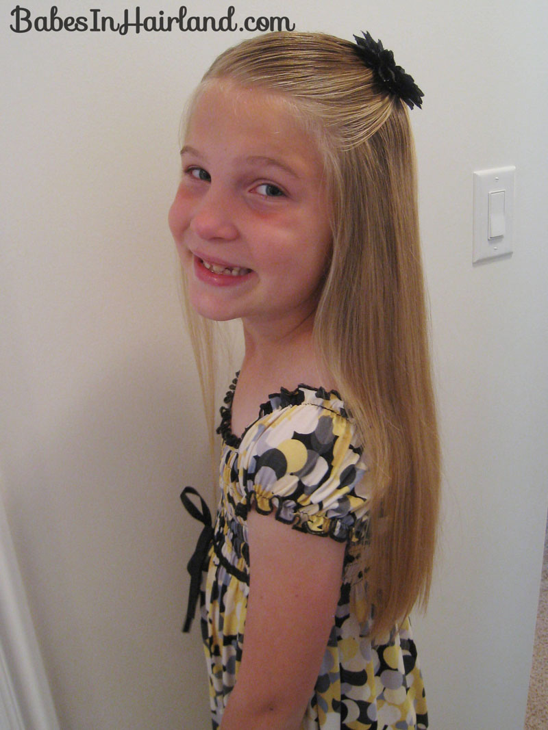 Terrific Simple Tween Look Babes In Hairland Hairstyle Inspiration Daily Dogsangcom