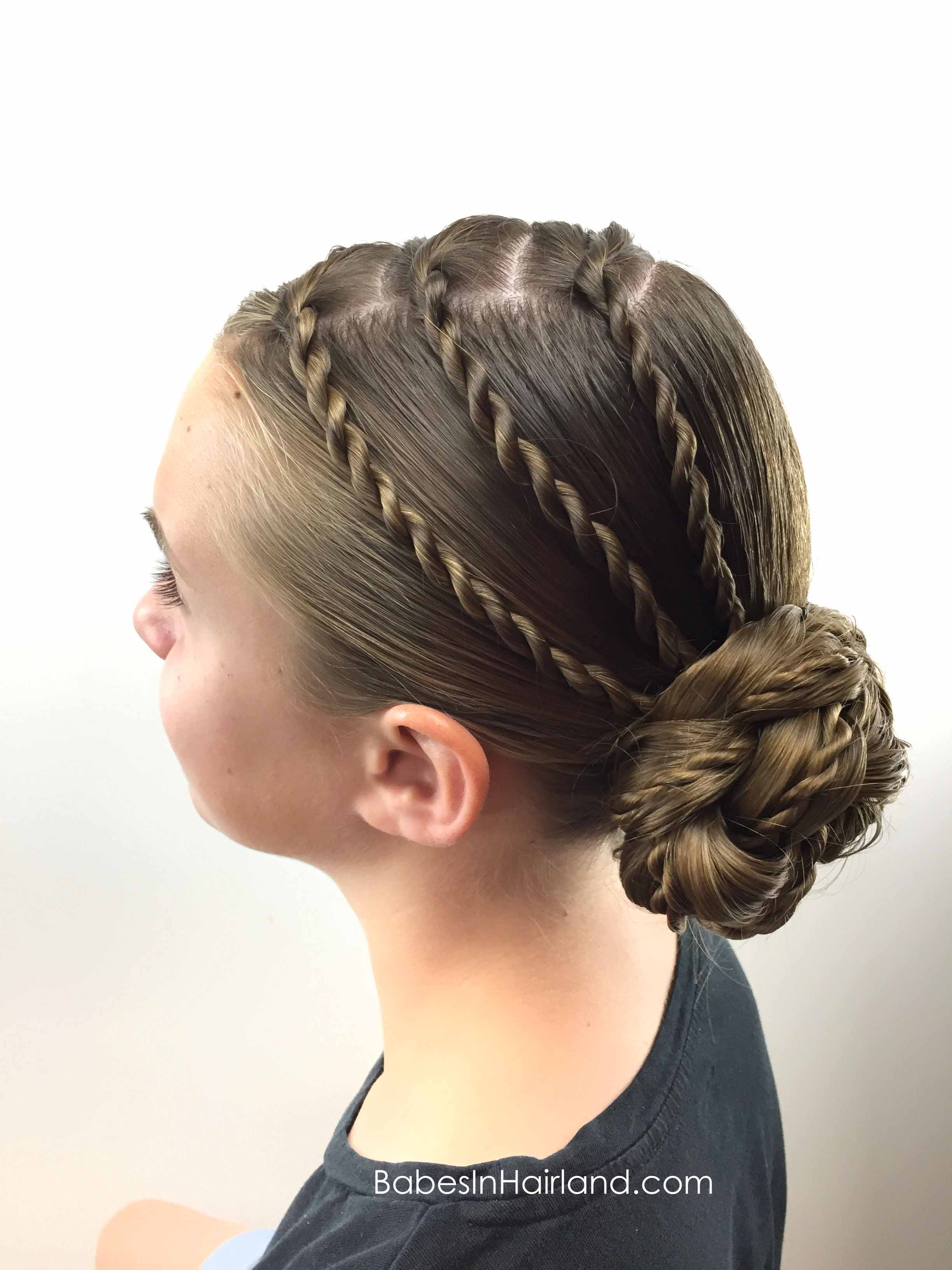 Triple Twists And Bun Babes In Hairland