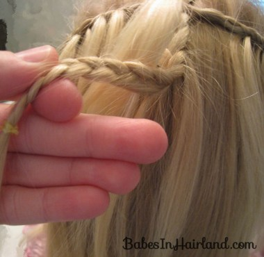 Cascade/Feathered Braid Hairstyle (9)