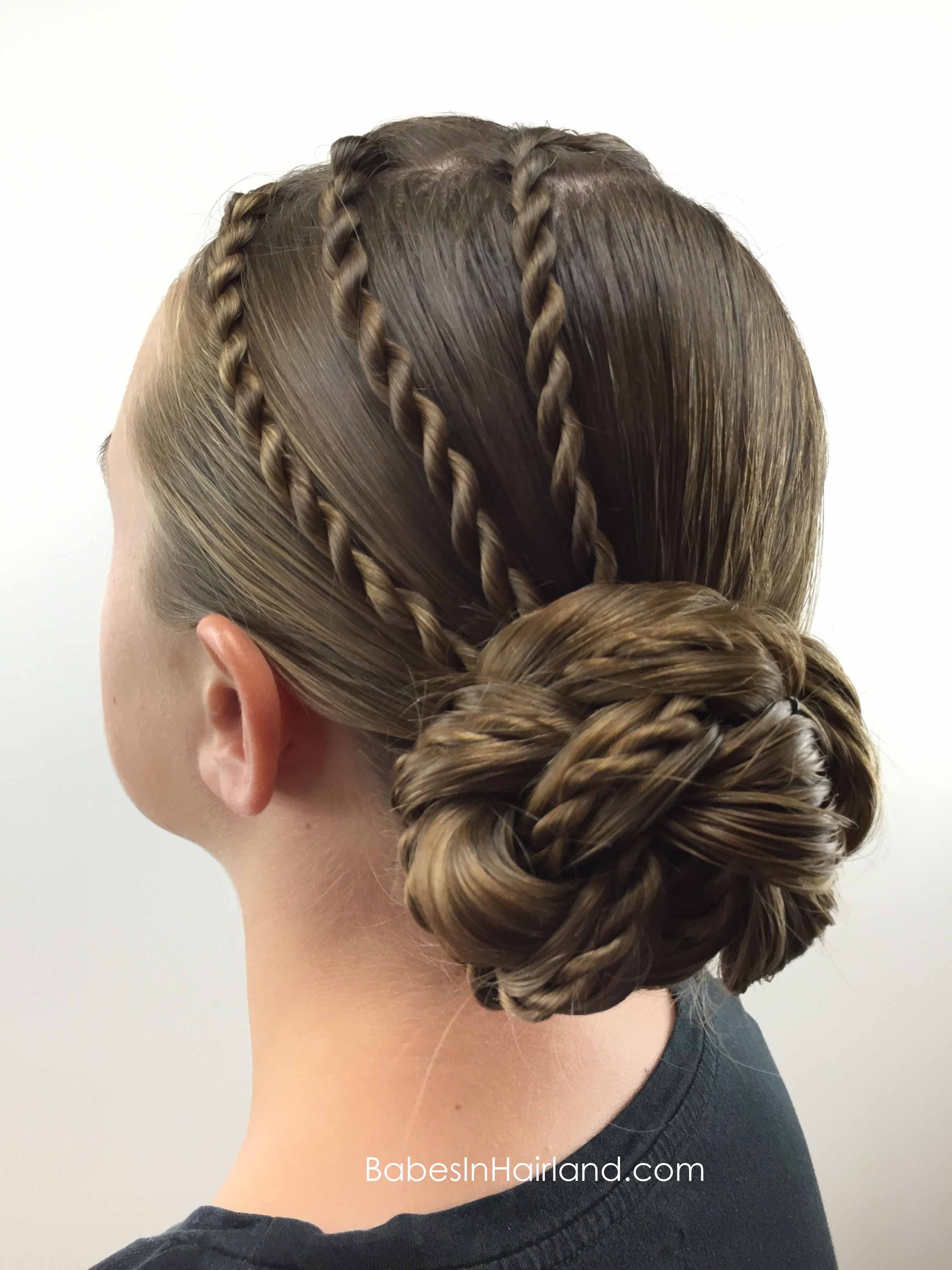 cool braid hair styles twists and bun in hairland 5280