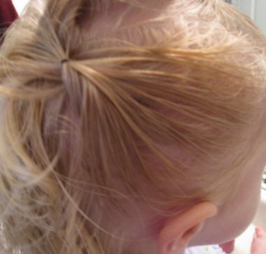 Baby Hair Easter Hairstyle (3)