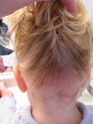 Baby Hair Easter Hairstyle (5)