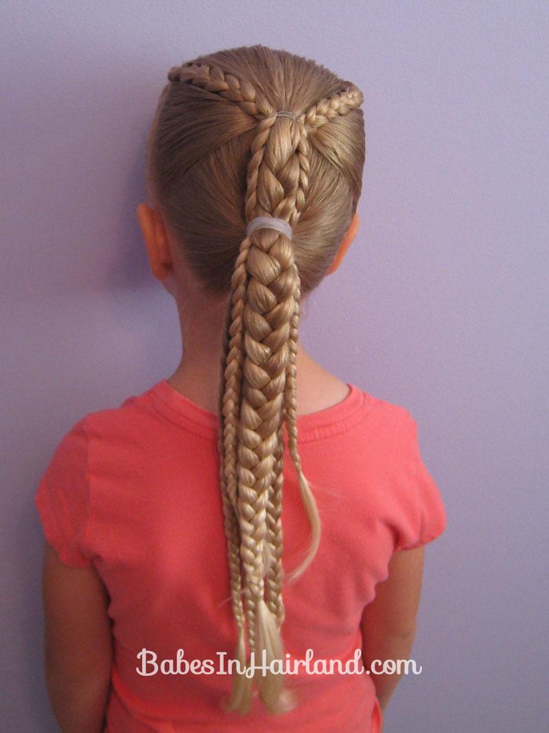 Cool Ponytails And Braids Babes In Hairland Short Hairstyles Gunalazisus