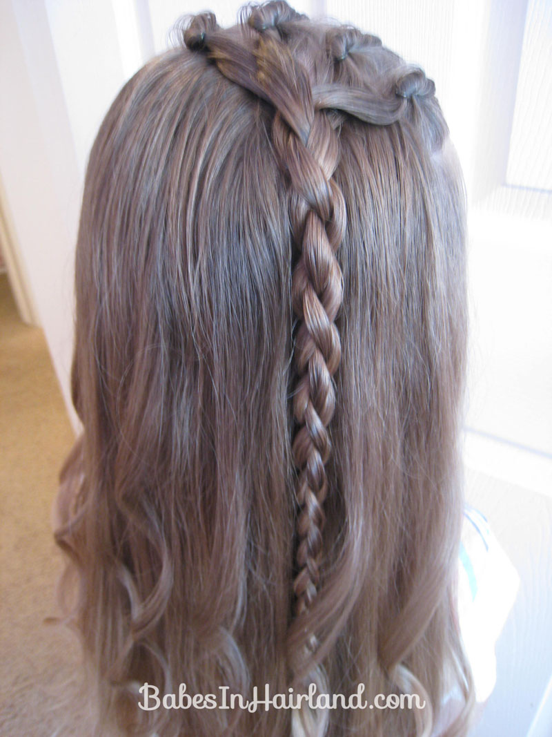 Cornrows And A 4 Strand Braid Babes In Hairland