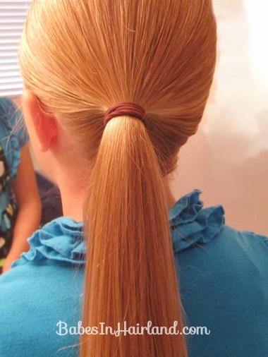 Easy Rolled Braid Updo (2)