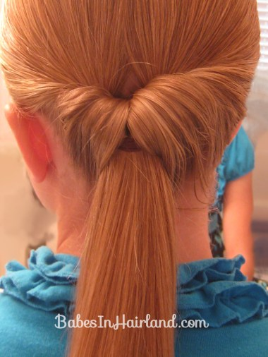 Easy Rolled Braid Updo (4)