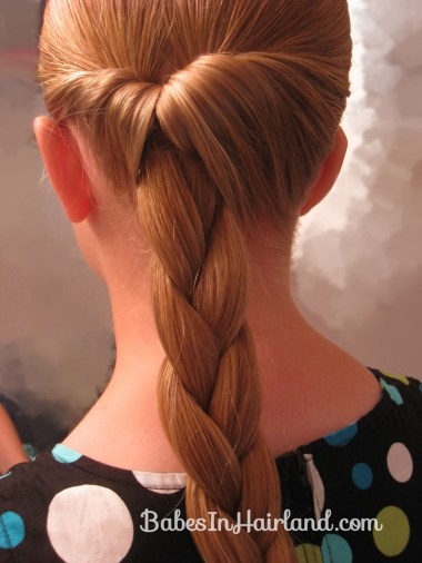 Easy Rolled Braid Updo (5)